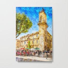 Aix en Provence-01 Metal Print