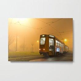 Foggy Metal Print
