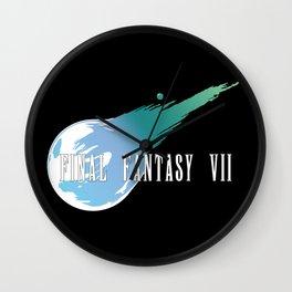 Meteor Logo - Final Fantasy VII Wall Clock