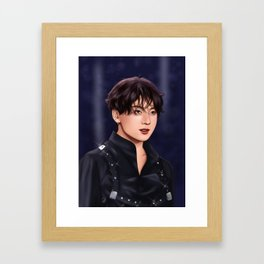 BTS JUNGKOOK STAGE Framed Art Print