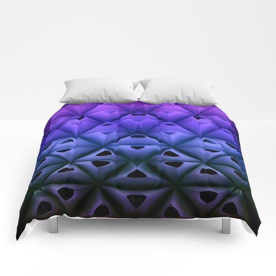 Neon Cones  Comforters
