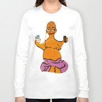 simpson Long Sleeve T-shirts featuring Simpson by Samantha Sager