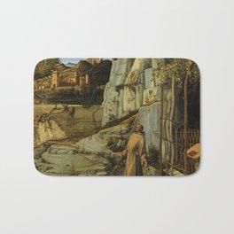 "Giovanni Bellini ""Saint Francis in the Desert"" Bath Mat"