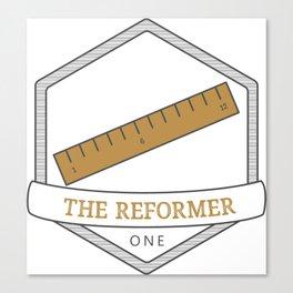 Enneagram Type 1 The Reformer Canvas Print