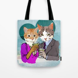 Kitty Cocktails Tote Bag
