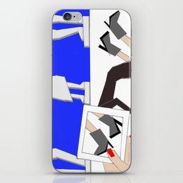 diego diaz marin  iPhone Skin