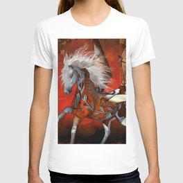Steampunk, awesome steampunk horse T-shirt