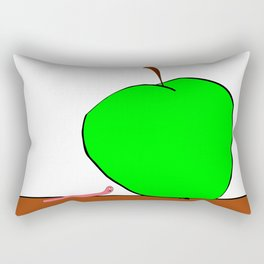 bite off more than one can chew Rectangular Pillow
