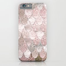 SUMMER MERMAID NUDE ROSEGOLD by Monika Strigel iPhone 6s Slim Case
