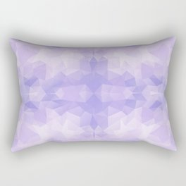 Light purple geometric design Rectangular Pillow