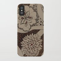 fierce iPhone & iPod Cases featuring Fierce by fawnadine