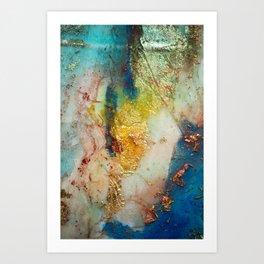 Dragón de mar Nº5 Art Print