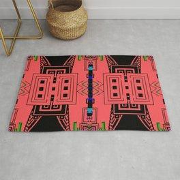 Hyper dimensional 8bit Fabric Rug