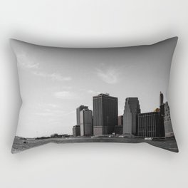 Manhattan Coast Rectangular Pillow
