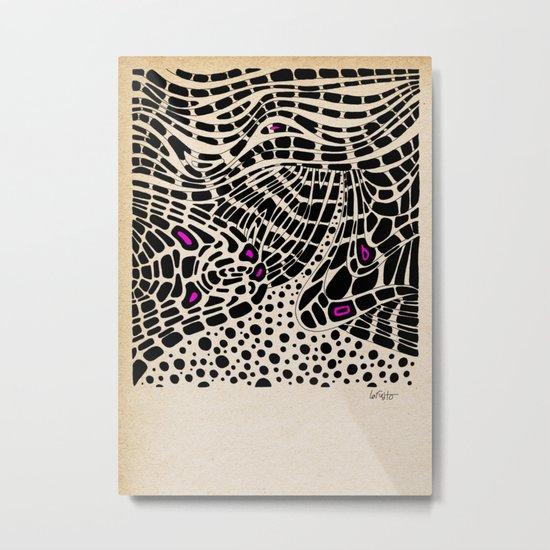 - serum - Metal Print