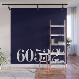 60532 Navy zipcode Wall Mural