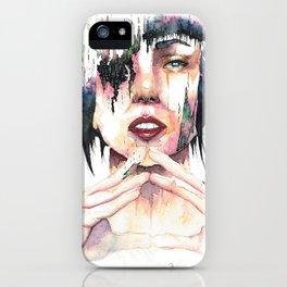 Ghost in the Shell - danielcrmr fan art- iPhone Case