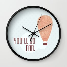 Without a doubt in my mind ♡ Wall Clock