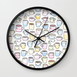 Tea Time! Wall Clock