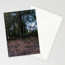 Underwood in the countryside of Lomellina Stationery Cards