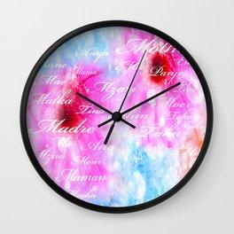 DEAR MAMA Wall Clock