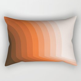 Desert Dusk Halfbow Rectangular Pillow