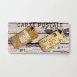 Carte Postale #2 Metal Print