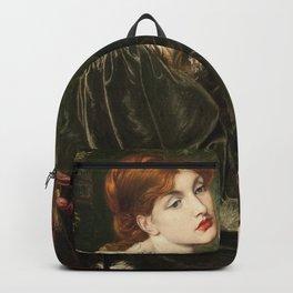 Dante Gabriel Rossetti - Veronica Veronese Backpack