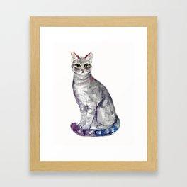 Kitty II Framed Art Print