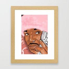 Killa Cam Camron Framed Art Print
