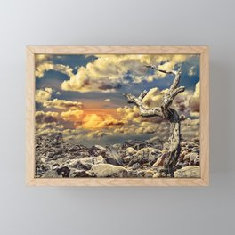 Fantasy Lanscape Scene Framed Mini Art Print