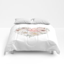 Bird of Paradise #floral Comforters