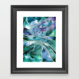 The Magnetic Tide Framed Art Print