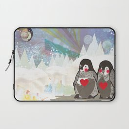 Baby Penguins Laptop Sleeve