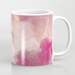 Mauve Dusk Abstract Cloud Design Coffee Mug