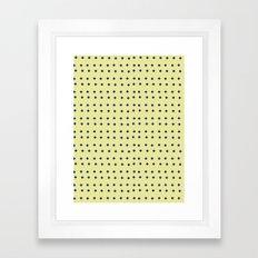 Crosses Framed Art Print