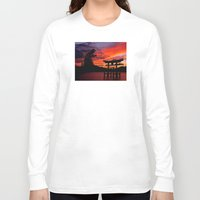 godzilla Long Sleeve T-shirts featuring Godzilla by Danielle Tanimura