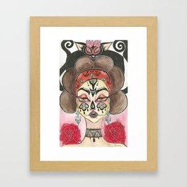 Sancha Framed Art Print