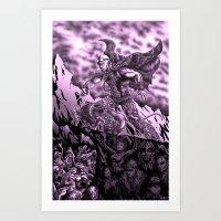 Riddick Art Print