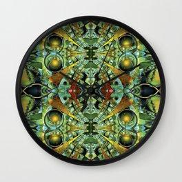 Psychotropic Visions Wall Clock