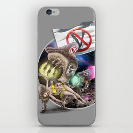 G.A.V.E.R. is upon us! iPhone Skin