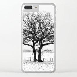 Three Winter Oaks Clear iPhone Case