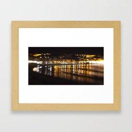 La Concha, San Sebastián Framed Art Print