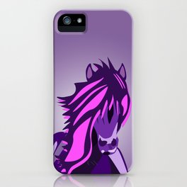 Pony in the Pink iPhone Case