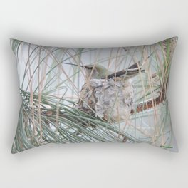 Pine Veil Nesting Rectangular Pillow
