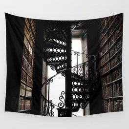 Trinity College Library Spiral Staircase Wall Tapestry