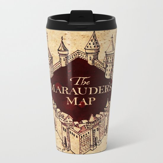 MARAUDERS MAP Metal Travel Mug
