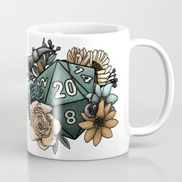 Cleric Class D20 - Tabletop Gaming Dice Coffee Mug