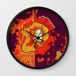 Cauterize Wall Clock