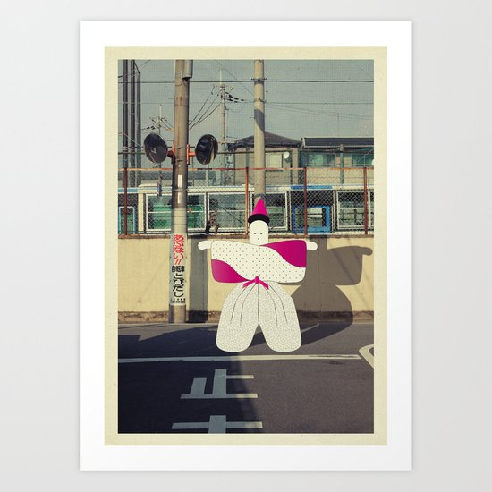 postcard from japan: kyoto#1 Art Print